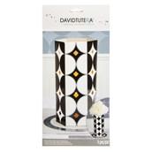 David Tutera Chalkboard Party Die Cut Vase Centerpiece