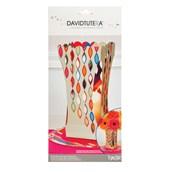 David Tutera Pop Party Die Cut Vase Centerpiece