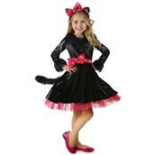 Deluxe Barbie Kitty Girls Costume