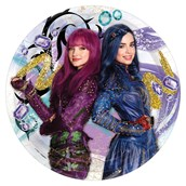 Descendants 2 Dinner Plate