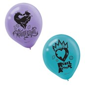 Descendants 2 Latex Balloons (6)