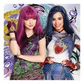 Descendants 2 Lunch Napkin (16)