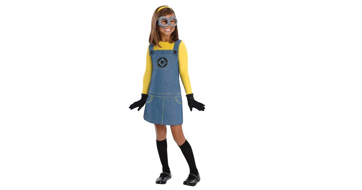 Despicable Me 2 Female Minion Child Costume
