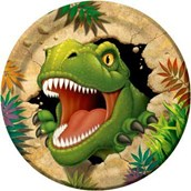 Dinosaur Adventure Dinner Plates