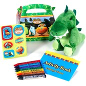Dinosaur Train Party Favor Box (4-Pack)