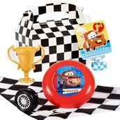 Disney 1st Birthday Cars Filled Favor Box (4)