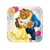 "Disney Beauty and the Beast  7"" Plate"