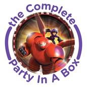 Disney Big Hero 6 Party in a Box