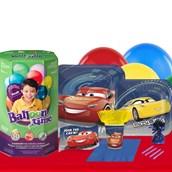 Disney Cars 3 16 Guest Party Pack - Tableware & Helium Tank