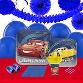 Disney Cars 3 16 Guest Tableware & Deco Kit