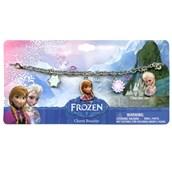 "Disney Frozen 7"" Metal Charm Bracelet"