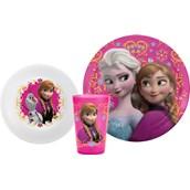Disney Frozen Plate, Bowl & Tumbler Set