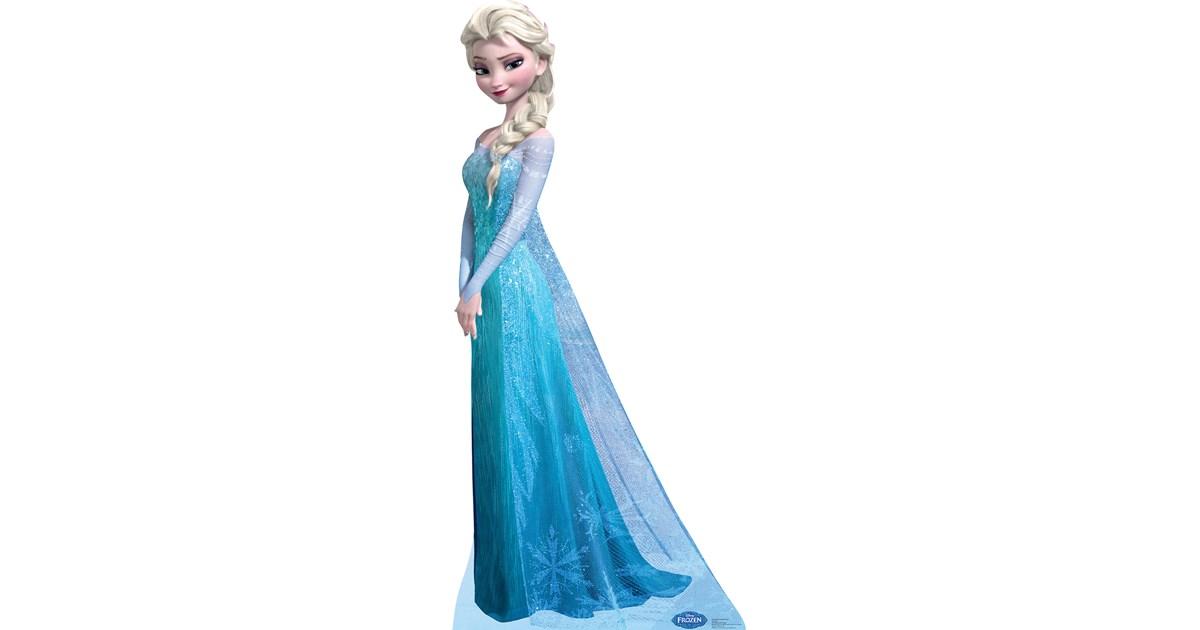 Disney Frozen Snow Queen Elsa Standup 6 Tall