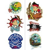 Disney Jake and the Never Land Pirates Tattoo Sheets (2)