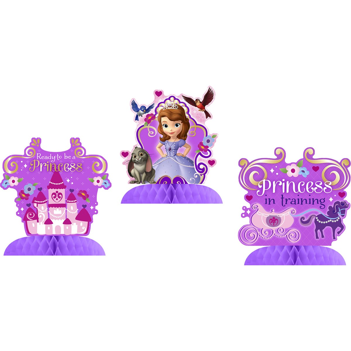 Disney junior sofia the first tabletop decorations disney junior sofia the first tabletop decorations birthdayexpress amipublicfo Images