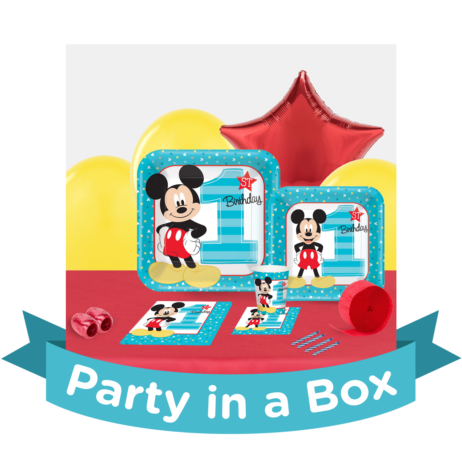 Mickeys 1st Party Supplies BirthdayExpresscom
