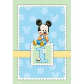 Disney Mickey's 1st Birthday Treat Bags