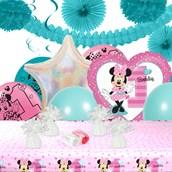 Disney Minnie Mouse 1st Birthday Deco Kit