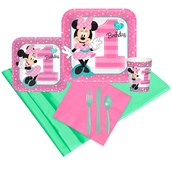 Disney Minnie Mouse 1st Birthday Guest Party Pack