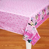 Disney Minnie Mouse 1st Birthday Tablecover