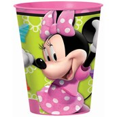 Disney Minnie Mouse Bowtique 16 oz. Plastic Cup