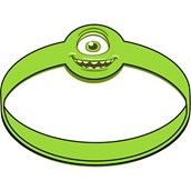 Disney Monsters U Rubber Wristbands