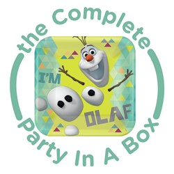Disney Olaf Party in a Box - Deluxe - 16 Guests