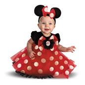 Disney Red Minnie Mouse Infant Costume