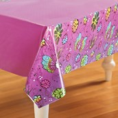 Disney Tinker Bell Plastic Tablecover