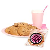 Diva Zebra Cookie Favor Kit