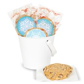 DIY Snowflake Winter Wonderland Sticker Deluxe Cookie Favor Kit