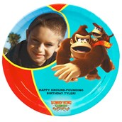 Donkey Kong Personalized Dinner Plates