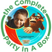 Donkey Kong Personalized Party in a Box