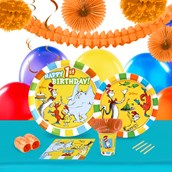 Dr Seuss 1st Birthday 16 Guest Tableware & Deco Kit