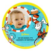 Dr. Seuss 1st Birthday Personalized Dinner Plates