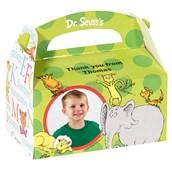 Dr. Seuss ABC 123 Personalized Empty Favor Boxes (8)