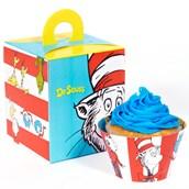 Dr. Seuss Cupcake Wrapper & Box Kit