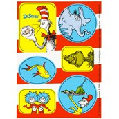 Dr. Seuss Sticker Sheets