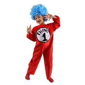 Dr. Seuss The Cat in the Hat - Thing 1 or Thing 2 Child Costume