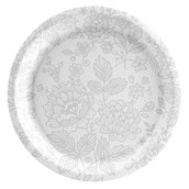 Elegant Lace Dinner Plate (8)