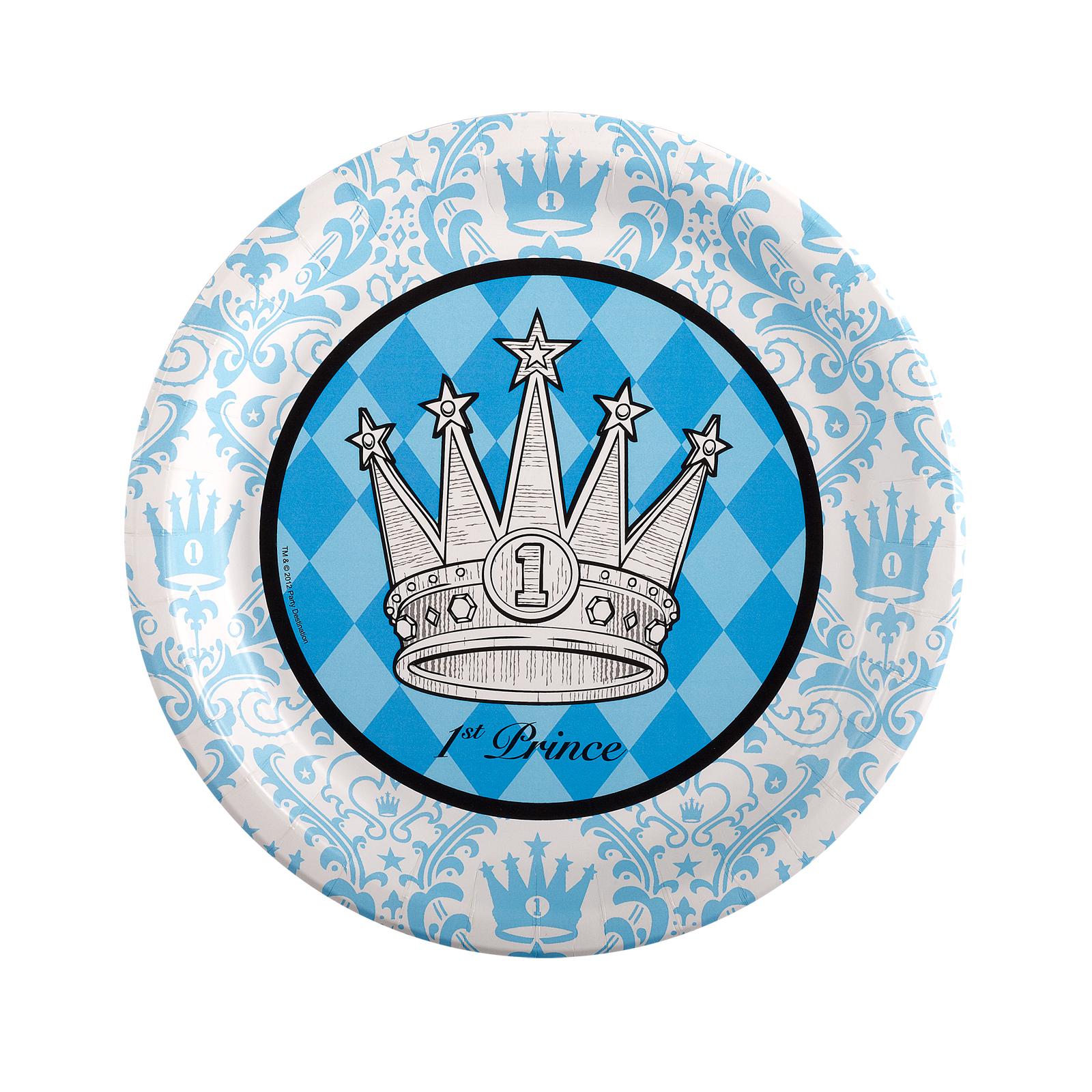 Elegant Prince Damask 1st Birthday Dinner Plates  sc 1 st  Castrophotos & Damask Dinner Plates - Castrophotos