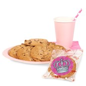Elegant Princess Damask Cookie Favor Kit
