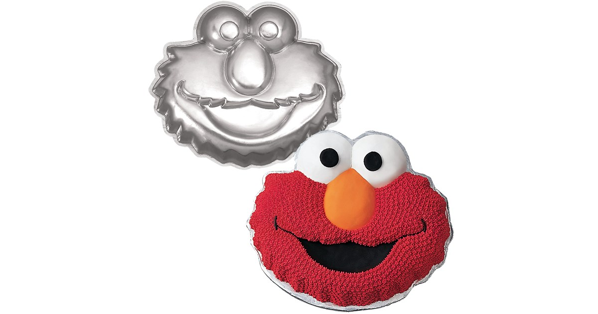 elmo cake pan elmo cake pan birthdayexpress 3883