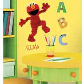 Elmo Giant Peel and Stick Wall Decals