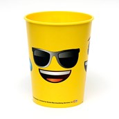 Emoji Faces 16oz Plastic Favor Cup (Each)