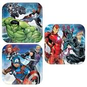 Epic Avengers Dessert Plate