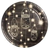 Evening Sparkle Dinner Plate (8)