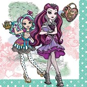 Ever After High Lunch Napkins (16)