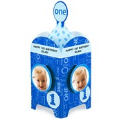 Everything One Boy Personalized Centerpiece