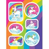 Fairytale Unicorn Party Sticker Sheet (4)